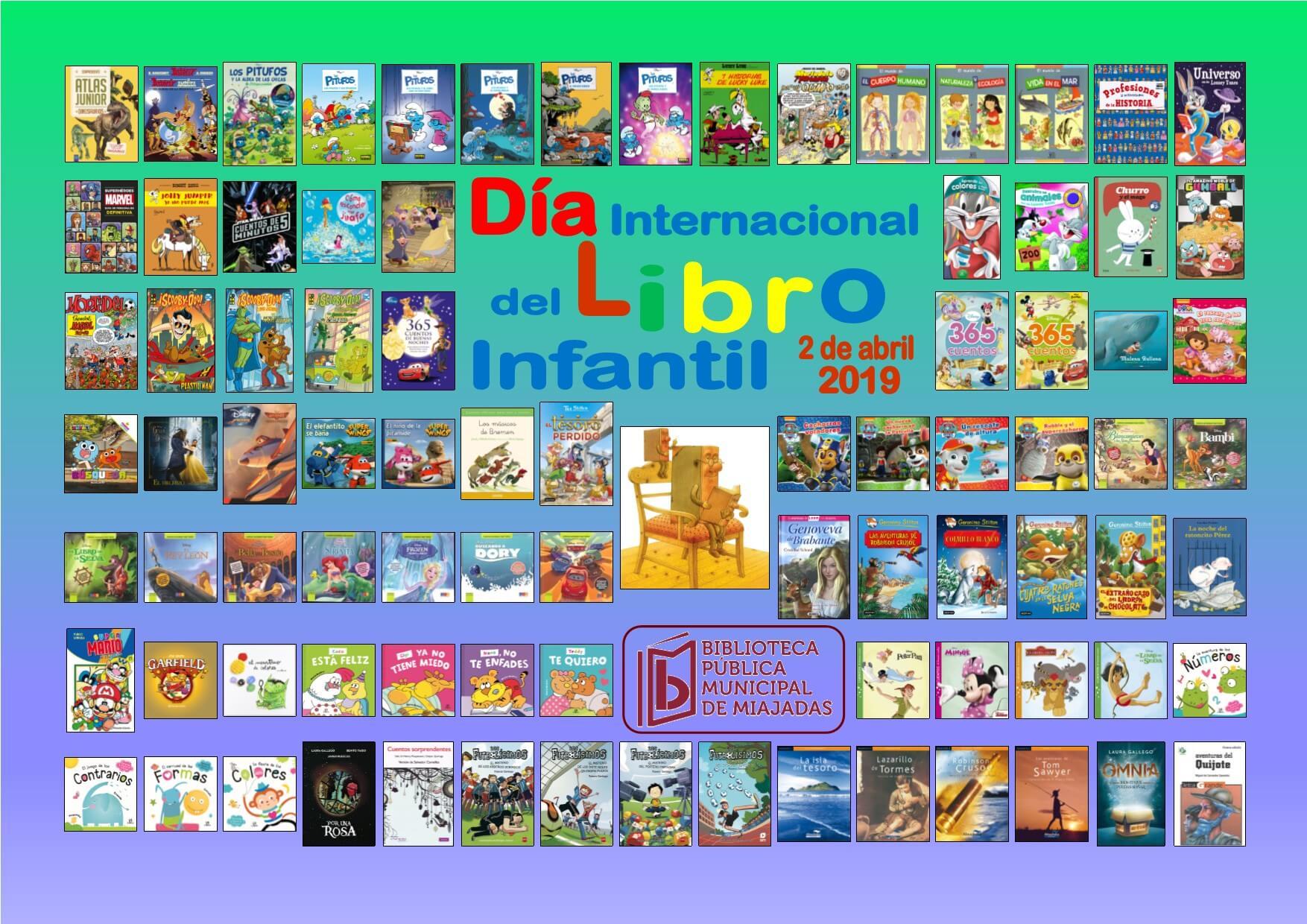 La Biblioteca De Miajadas Con El Día Internacional Del Libro