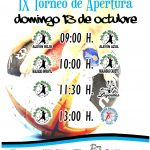 IX Torneo de Apertura Balonmano